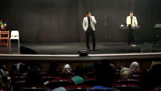 کنسرت خنده سامان طهرانی
