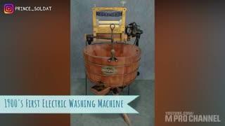 تحولات ماشین لباسشویی از سال ۱۷۹۷ تا ۲۰۱۹