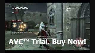 ترکوندن باحال برج تو بازی Assassins Creed Brotherhood گیم پلی خفن خودم