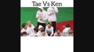 تاحالا جنگیدن کِن(vixx)وتهیونگ رو سر جین دیدید؟؟؟(توضیح حتمی) (bts/vixx/ken/te te/jin/taejin)