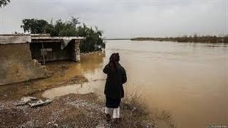 سوسنگرد خوزستان سطح آب لحظه به لحظه در حال بالا آمدن است