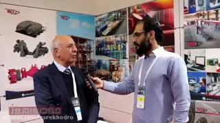 گفت و گو با مدیرعامل صنایع چدن اصفهان در نمایشگاه اتومکانیکای استانبول