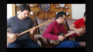 قطعه در غم - اثر استاد مشکاتیان - اجرای گروه جان عشاق - امین کاظمی