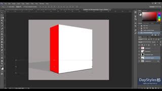 آموزش ساخت یک کاور سه بعدی برای پک های آموزشی - جعبه سه بعدی در فتوشاپ - سبک روزانه