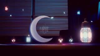 پروژه آماده افتر افکت نمایش لوگو ماه رمضان - Elegant Ramadan Logo