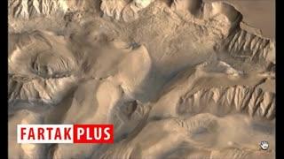 کشف سازه ای عجیب روی مریخ!