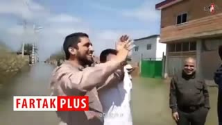 مداحی متفاوت امیر عباسی و سعید قاسمی در منطقه سیل زده آق قلا