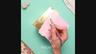 جعبه دستمال کاغذی بسازید