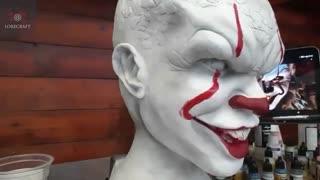 ساخت مجسمه از فیلم IT