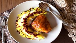 آموزش آشپزی: زرشک پلو با مرغ