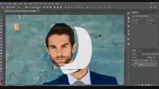آموزش برش عکس در فتوشاپ