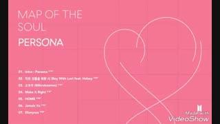 ~ترک لیست Persona منتشر شد~(Map Of The Soul/BTS)