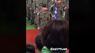190409 SHINee (샤이니) Key Kibum Military Training Graduation