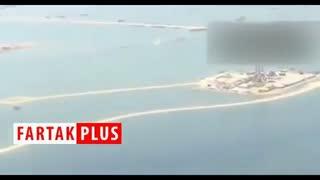 زیر آب رفتن تاسیسات نفتی در هورالعظیم/ پر شدن تالاب در هر دو سوی مرز ایران و عراق + فیلم