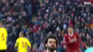 50 گل محمد صلاح در لیگ برتر انگلیس با پیراهن لیورپول