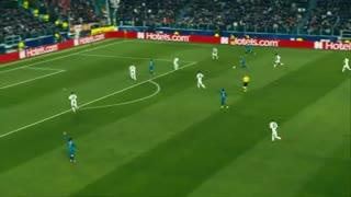 بازگشت یوونتوس به لیگ قهرمانان اروپا با هتریک کریستیانو رونالدو