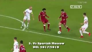 8 گل فیلیپه کوتینیو با پیراهن لیورپول و بارسلونا در لیگ قهرمانان اروپا