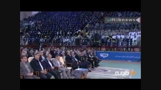رئیس جمهور: نمی گذاریم صادرات نفت ایران به صفر برسد