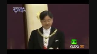 تخت نشینی امپراتور جدید ژاپن
