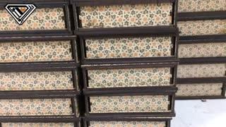 جعبه کادوئی زعفران چوبی