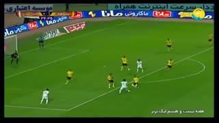 خلاصه  سپاهان 2_0 ماشینسازی تبریز(هفته بیستوهشتم لیگ برتر)