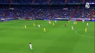 گلهای به یادماندنی رئال مادرید به ویارئال