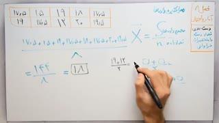 ریاضی 8 - فصل 8 - بخش 2 : میانگین داده ها و مرکز دسته