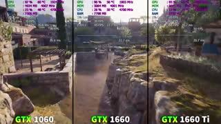 جدید ترین مقایسه بین کارت گرافیک های GTX 1660 vs GTX 1060 vs GTX 1660 Ti