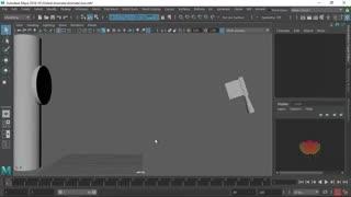 Animate in maya 10 : آموزش انیمیت در مایا جلسه دهم