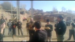 عزاداری روستای خانه سر شهرستان مرند- امید به بازسازی و بازگشت با لبیک یاحسین