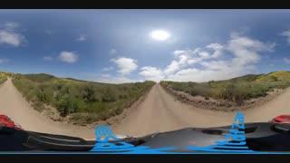 نمونه ویدئوی ضبط شده با دوربین Insta 360 One X در حالت معمولی