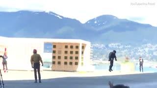 پرینتر سه بعدی و لباس مرد آهنین با قدرت پرواز!