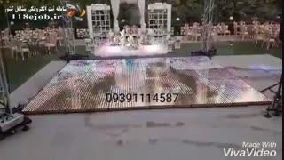 تولید استیج LED ابراهیم پناه در شیراز