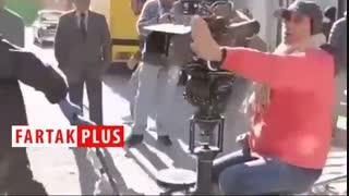 ویدئویی که رضا یزدانی از پشت صحنه «از یاد رفتهها» منتشر کرد