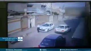 دستگیری  سارقین کلیپ جنجالی سرقت گاو صندوق جلوی صاحب خانه
