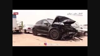 گزارش ۲۰:۳۰ از تصادف بحث برانگیز پورشه با پراید در اصفهان