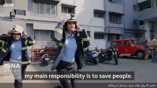 دختری که برای نجات مردم، سنتها را میشکند