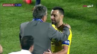 خداحافظی ژاوی از فوتبال در بازی پرسپولیس و السد
