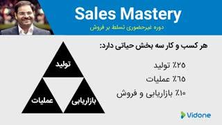 درس اول بخش دوم دوره تسلط بر فروش