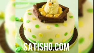 جدیدترین ایده های مدل تزیین کیک عروسی و تولد + (۵۰ عکس)
