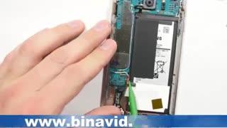 روش باز و بسته کردن تعویض تاچ و LCD گالکسی S7 Edge