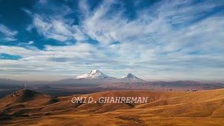 ویدئو مستند تایم لپس از کوه آرارات