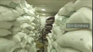 100 تن شکر احتکار شده در یزد