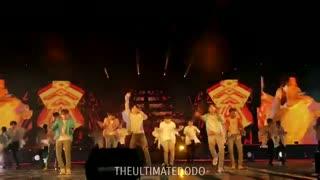 اجرای فوق العاده ی  idol از بی تی اس در کنسرت speak yourself لس آنجلس(BTS/fancam/concert)