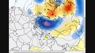 تحلیل نقشه های هواشناسی طی نیمه دوم تیر 98