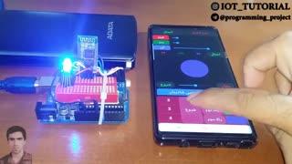 کنترل زمان بندی شده پیشرفته LED RGB