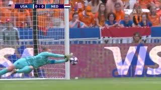 خلاصه بازی فیال جام جهانی زنان 2019 بین آمریکا و هلند | ماگرتا