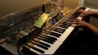 آهنگ snow halation از انیمه لاو لایو با پیانو