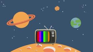 موشن گرافی معرفی TVchannel