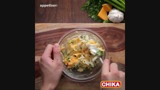 دستور آسان آشپزی: نان پنیری